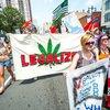 DNC marijuana demonstration broad street