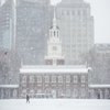 Carroll - Snow on Independence Mall