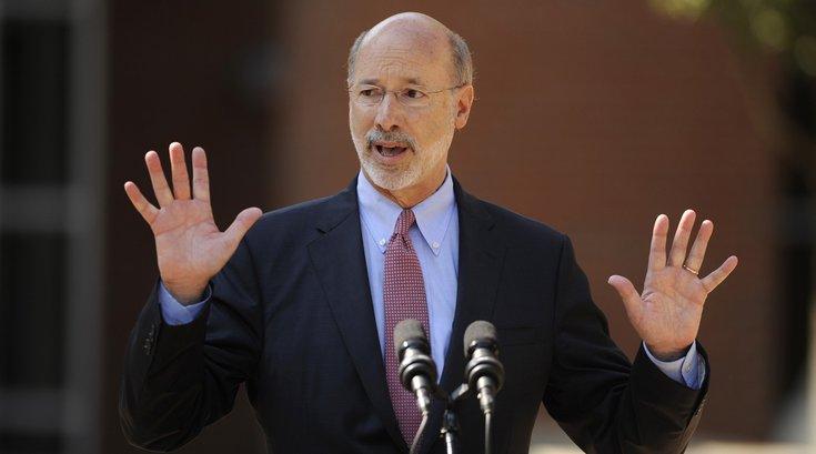 Tom Wolf veto senate bill