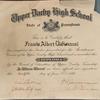 Upper Darby High School Diploma Florida
